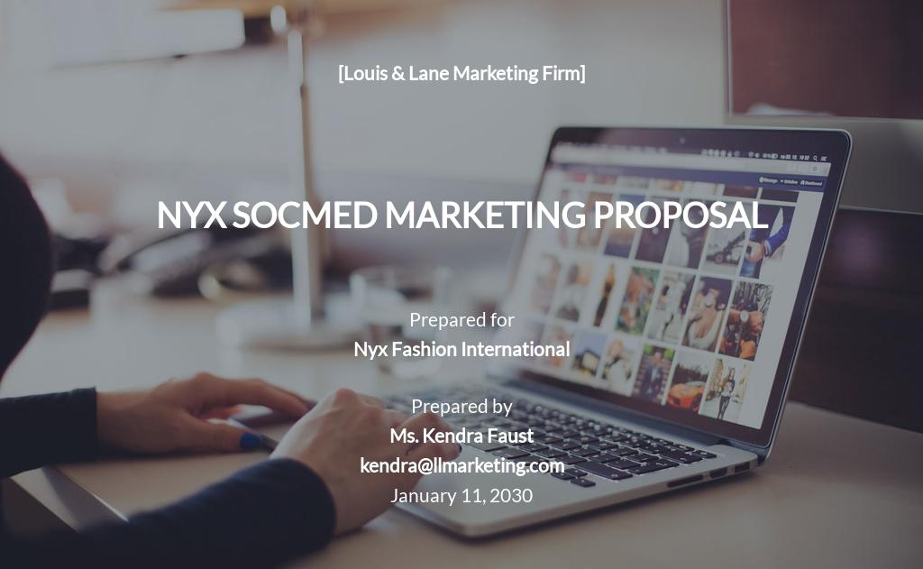 Social Media Marketing Proposal Template